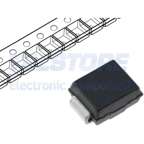5pcs SMBJ 20a Diode Diode 600w 20v 19,4a Unidirectional do214aa ST microelectro