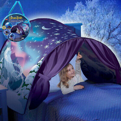 Kids Play Dream Tents Childs Wonderland Bed Tent Pop Up