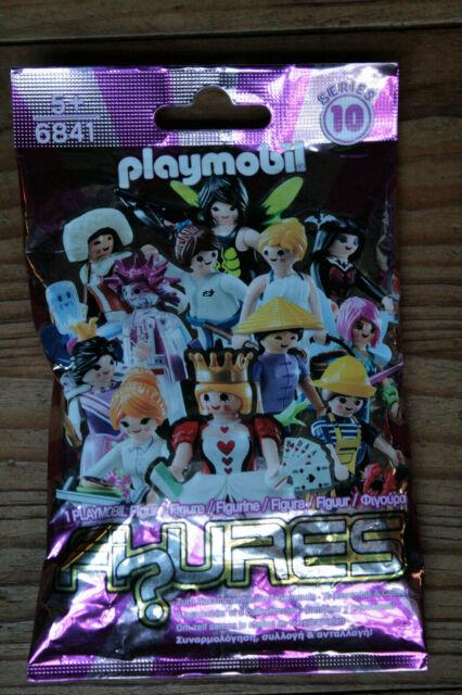 Playmobil Figuras 6841 Serie 10 Niña,Paquete Sorpresa,Figuras para Colección