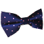 Navy-Blue-Pink-Polka-Dots-Pre-tied-Bow-tie-Mens-Bowtie-for-Groomsmen-Wedding thumbnail 1
