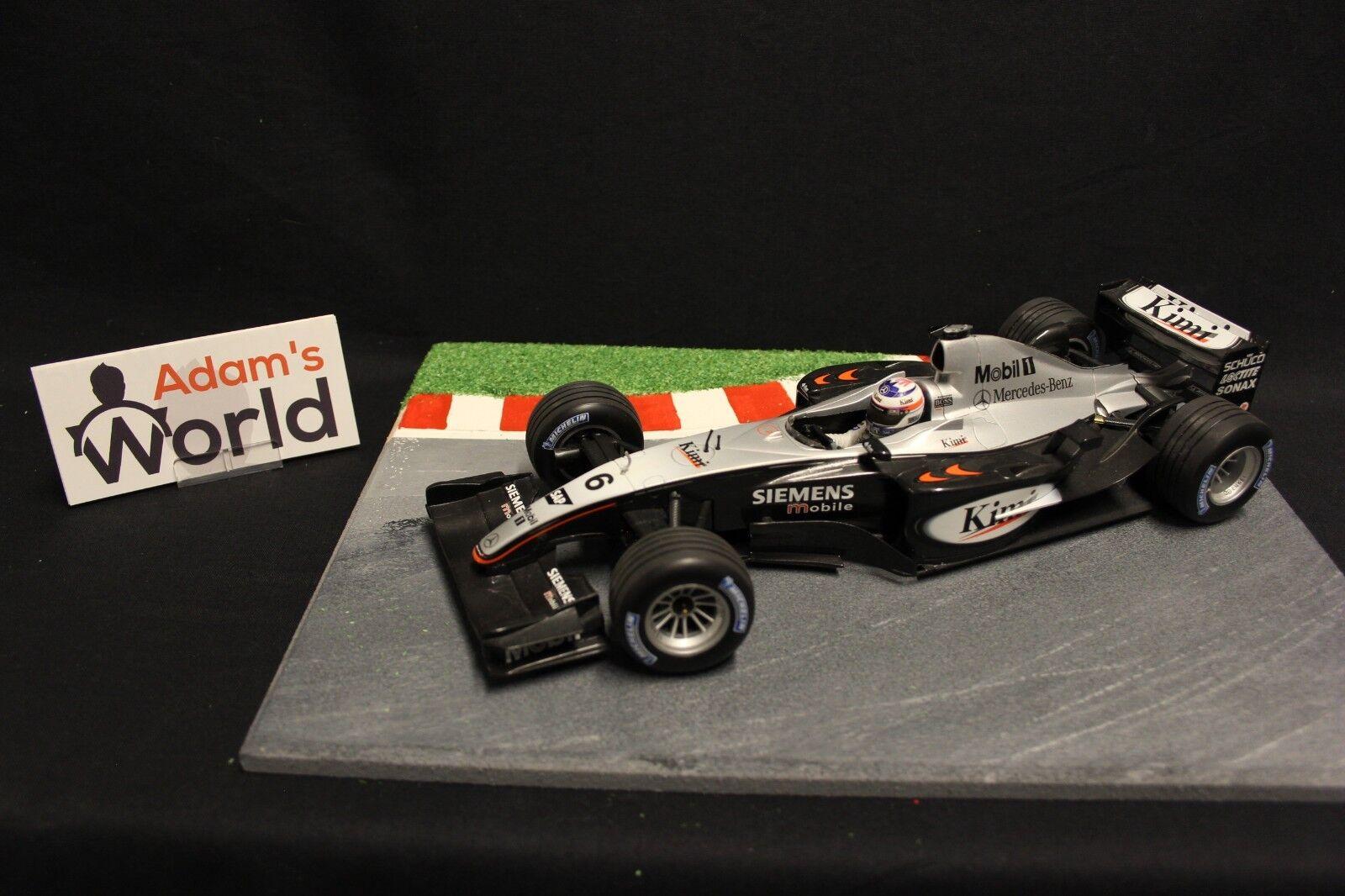 Minichamps McLaren Mercedes MP4-18 2003 1 18 Kimi Raikkonen (FIN) (F1NB)