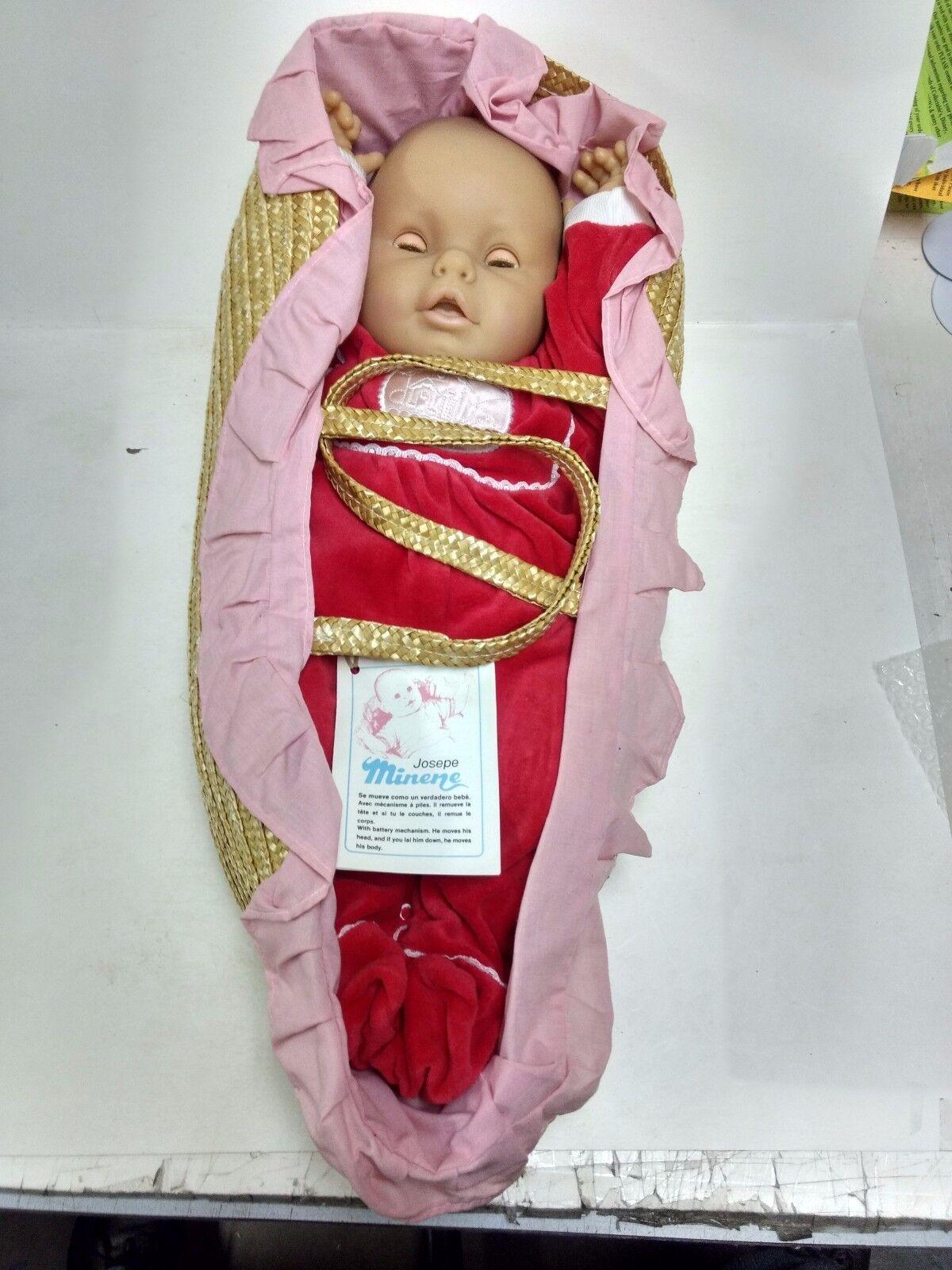 Josepe Minene Leben wie Baby Batterie Betriebene Rot Schlafanzug 21 in ds245