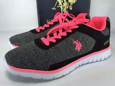 U.S. Polo Assn. Women's Gray Brandy Fashion Sneakers Shoe Size 7.5