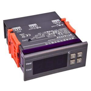 230V-Digital-LED-Anzeige-Temperaturregler-40-120C-Thermostat-mit-Sensor-MH1210A