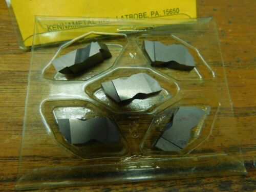 """5 Kennametal Top Notch NG 36L K420 3//16/"""" Wide Carbide Grooving Inserts"""