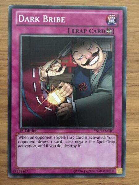 DARK BRIBE YS13-EN040 Common Yugioh NM Card