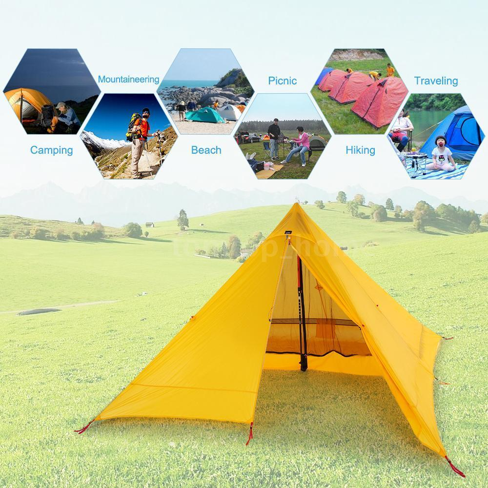 Ultra Light Waterproof 2 Person Double Layer Tent Outdoor Camping Tent Hot K2E9
