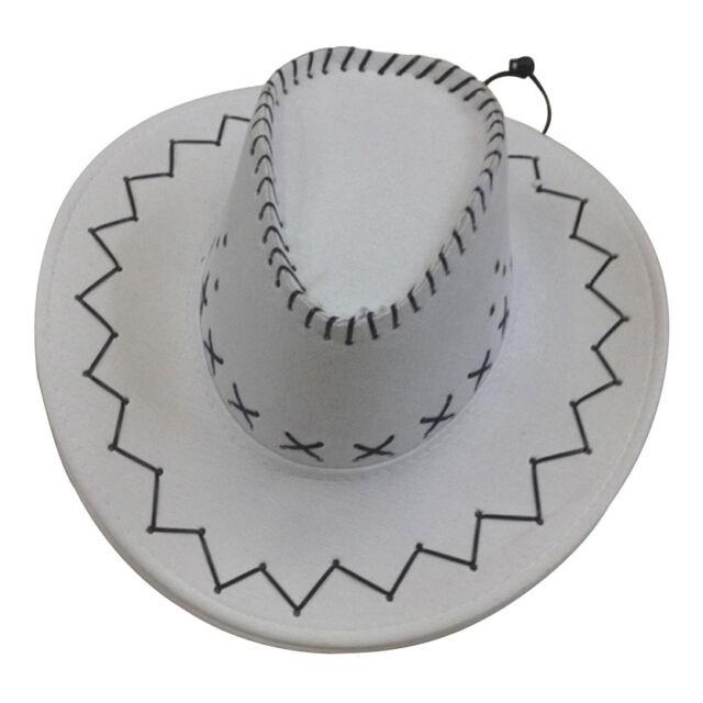 7a2a4be3e4f Retro Unisex Denim Wild West Cowboy Cowgirl Rodeo Fancy Dress ...