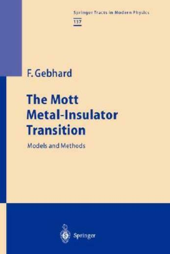The Mott Metal-Insulator Transition