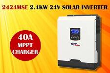 (MSE) Solar inverter 3kva 24v 2400w pure sine inverter 40A MPPT charger