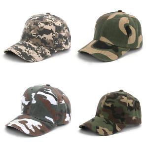 Unisex-Baseball-Caps-Hip-Hop-Camo-Cap-Casual-Adjustable-Dad-Hat-Outdoor-Snapback