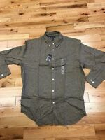John Ashford Button Front Shirt Size Xxl