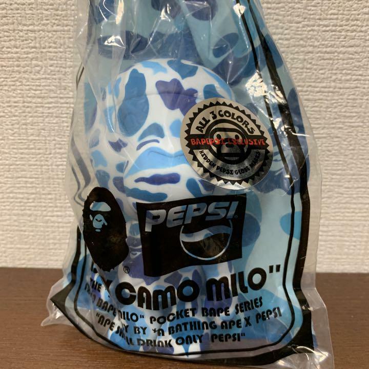 A BATHING APE x PEPSI collaboration  cifra blu japan Limted  BAPE rare  100% nuovo di zecca con qualità originale
