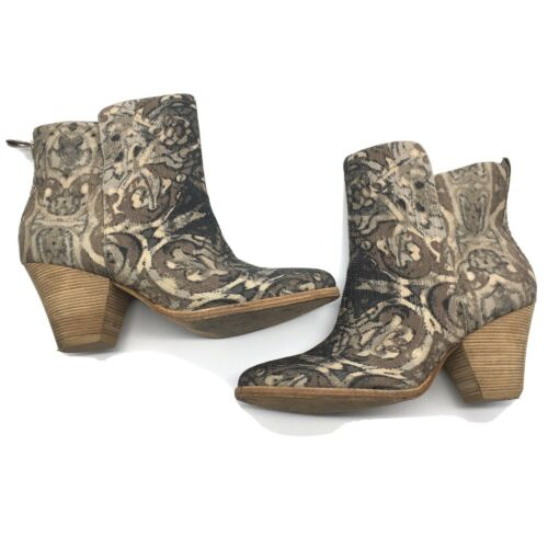 Ella Moss 'Victoria' Tapestry Ankle Boots Women's