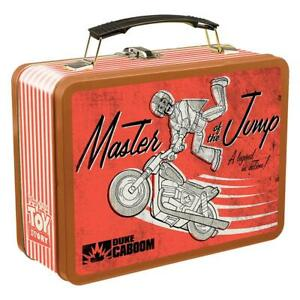 TOY-STORY-4-DUKE-CABOOM-Stunt-Motorcycle-Rider-Large-Tin-Tote-Metal-Lunch-Box
