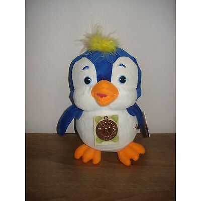 Talking soft toy Penguin 20 cm from cartoon Masha and the Bear (Маша и медведь)