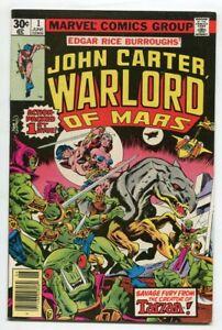 John-CARTER-Warlord-of-MARS-1-Marvel-KANE-VF