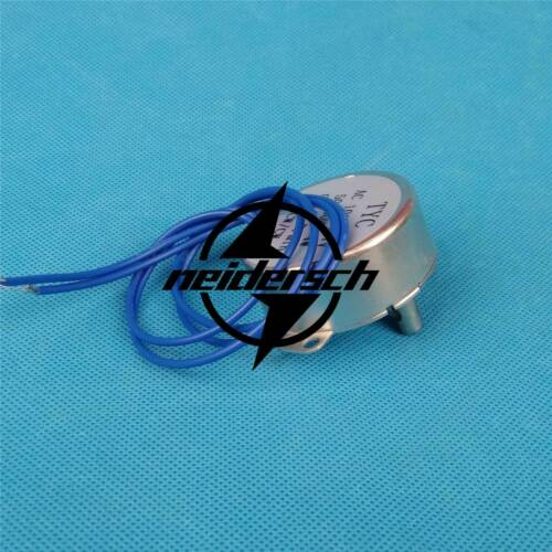 AC 110V Synchronous Motor 0.8-1RPM CWTYC-50 //CCW 4W Torque 12KGF.CM Silver