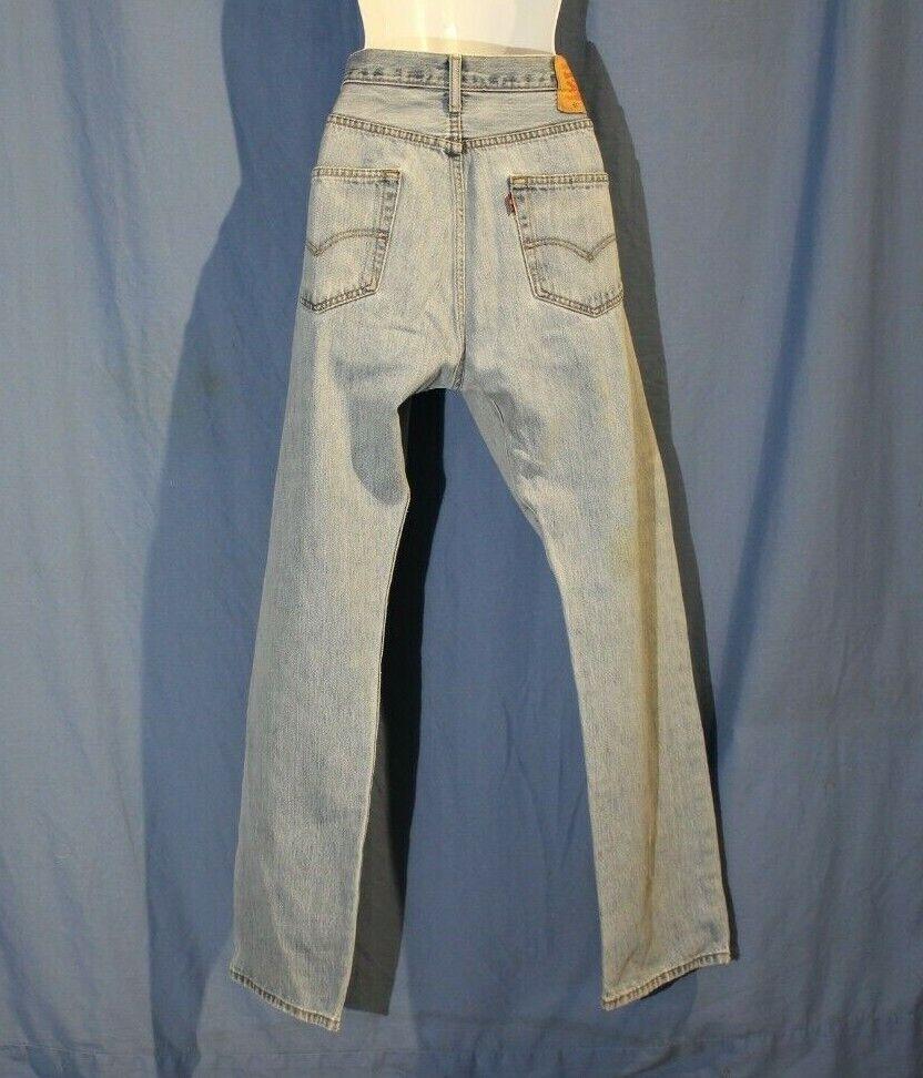 VINTAGE LEVis 501 Distressed Jeans - image 2