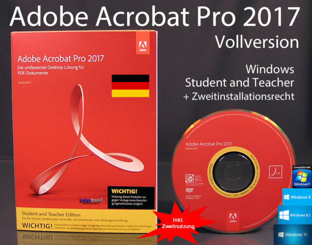 adobe acrobat professional student and teacher edition