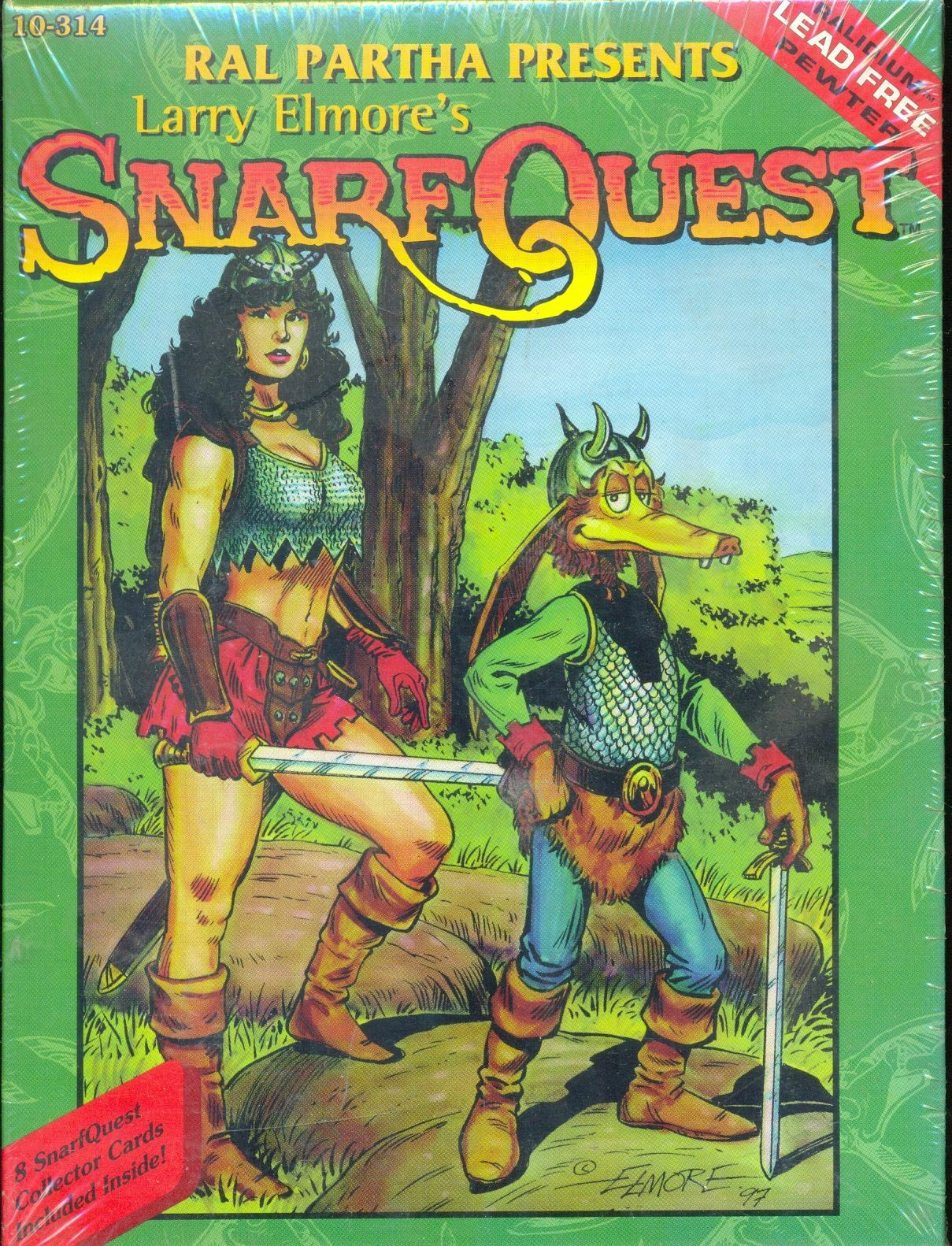 RAL PARTHA 10-314 LARRY ELMORE SNARF QUEST
