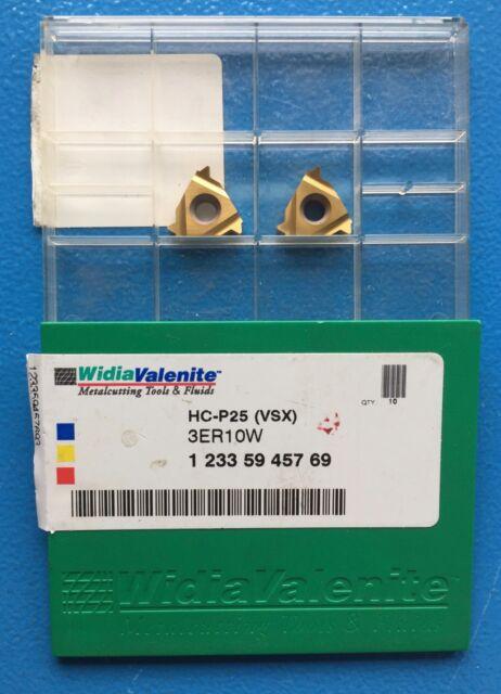 308 10 pc New Sealed Box Widia Inserts HC-P25 TN6025 3ER8NPT 2019305