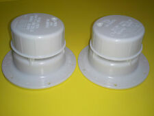 2 Sewer  Black, Gray holding Tank, Roof Vent Caps for RV, Motorhome, Campers.