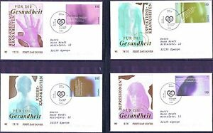 Frg-2001-Health-FDC-No-2200-2203-Berlin-Special-Postmark-Used-20-05