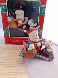 "1993 Enesco Baskin Robbins /"" Sweet Whiskered Wishes /""  Christmas Ornament NIB"