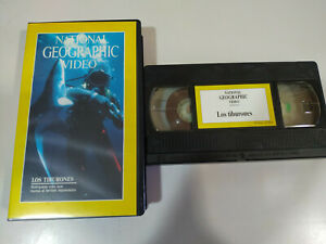 Los-Tiburones-National-Geographic-Video-VHS-Cinta-Tape