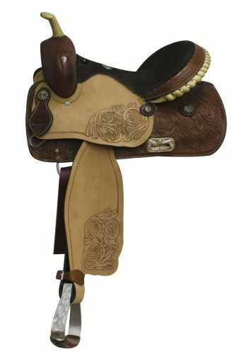 Double T Barrel Style Saddle. 14 , 15 , 16