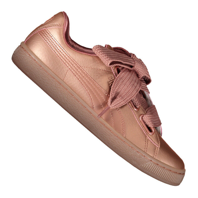 PUMA Basket Heart Copper Sneaker Damen Rosa F01