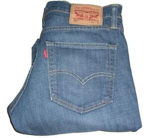 Mens Levi's 511 Slim Fit Dark Blue (1361) Stretch Denim Jeans W32 L32