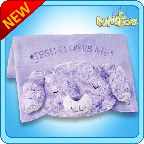 Authentischen kissen pet gebet bunny decke stofftiers geschenk