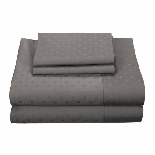 Ultra Soft 600 Thread Count Egyptian Cotton Blend Woven Dots Bedding Collection