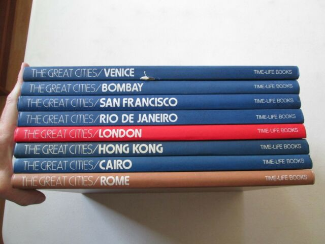 TIME LIFE BOOKS THE GREAT CITIES LOT OF 8 VOLUMES Cairo ...