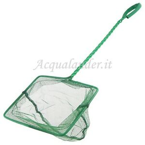 Cleaning & Maintenance Modest Rete Retino Per Pesci Gamberetti Pulizia Acquario Dolce Marino 10 X 9 Cm Pure Whiteness