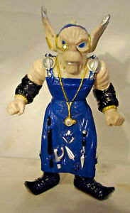 """VINTAGE 1993 BANDAI """"FINSTER"""" POWER RANGERS ACTION FIGURE 7 3/4"""" TALL"""
