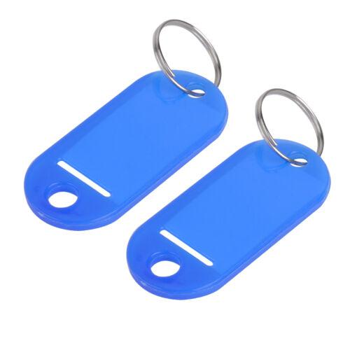 100stk Schlüsselschilder Schlüsselanhänger Schlüssel Beschriften Farben Etikett