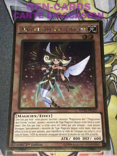 OCCASION Carte Yu Gi Oh MAGICIENNE DES CITRONS MVP1-FRG51