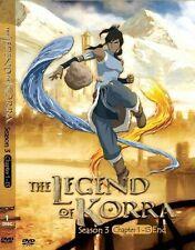 DVD Avatar: The Legend Of Korra (Book / Season 3) 1-13End DVD Boxset