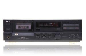 Akai-GX-65-MKII-Stereo-Kassettendeck-Cassetten-Deck-Tape-Deck