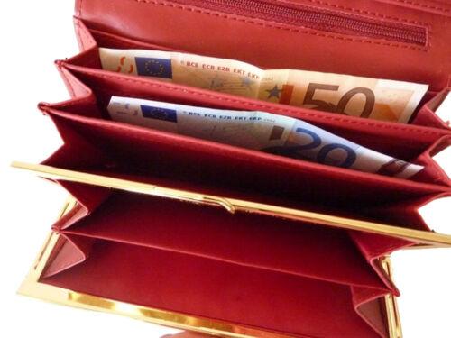 PORTAFOGLIO Donna Portamonete Portafogli Lungo Long Wallet Portafoglio cashbox 163