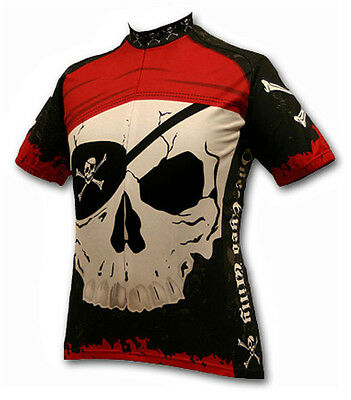 Pirate Cycling Jersey Medium M bike bicycle NEW mens