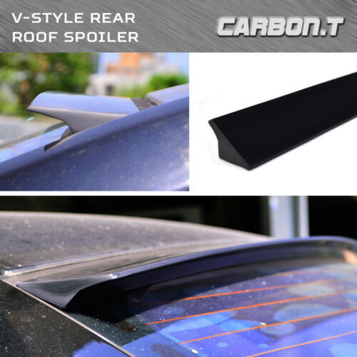 0712 For Audi TT 8J Coupe VStyle Roof Lip Spoiler Wing Unpainted