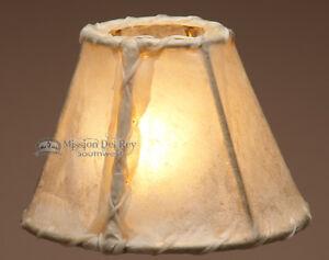 Southwestern Rawhide Chandelier Lamp Shade 6 Quot Ebay