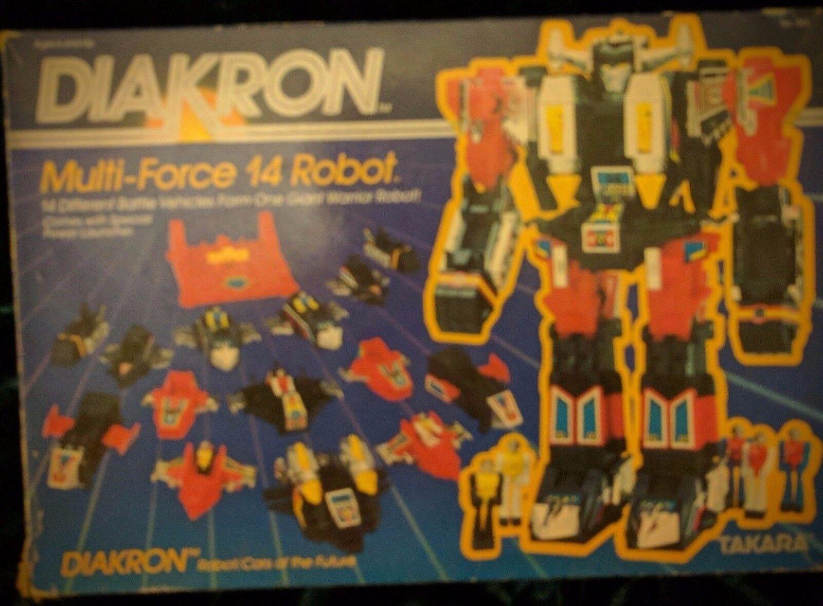 Kronoform - 14 Multi-Force Robot - Takara
