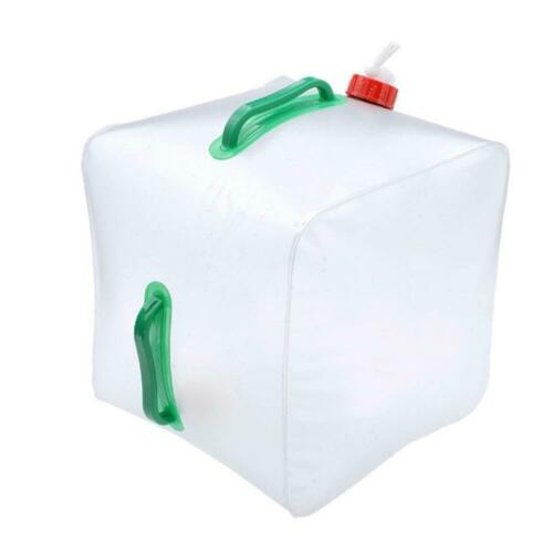 20L Water Carrier Container Foldable Collapsible With Tap Camping Bottle