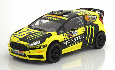 V. Rossi IXO 1:43 RAM694 2018 Ford Fiesta WRC Rallye Monza NEU! #46