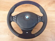 Lederlenkrad BMW E34 E36 E39 mit Airbag NEU LEDERRBEZUG mit ALCANTARA